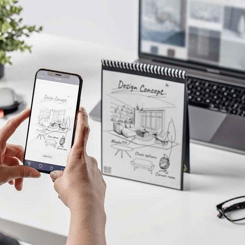 Application mobile Android pour scanner le cahier réutilisable