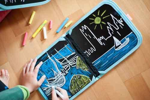 cahier ardoise réutilisable pour enfant
