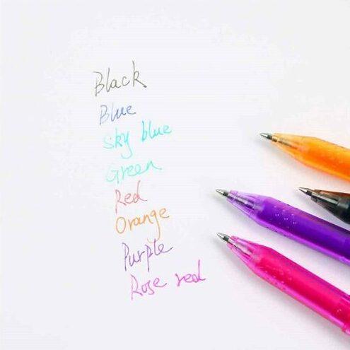 stylo à gel Pilot frixion de couleur pour cahier effaçable