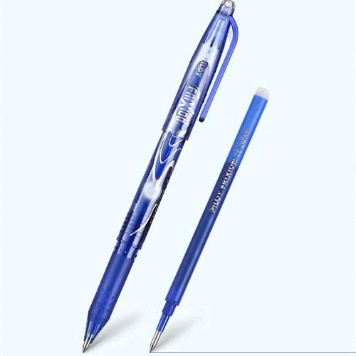 stylo gel pilot frixion rechargeable avec une cartouche d'encre