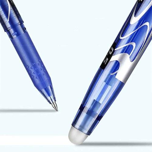 stylo gel pilot frixion avec une gomme en caoutchouc