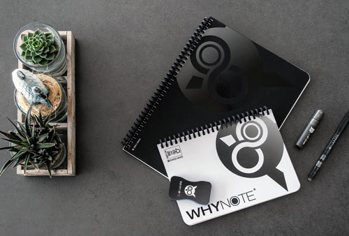 Whynote cahier réutilisable