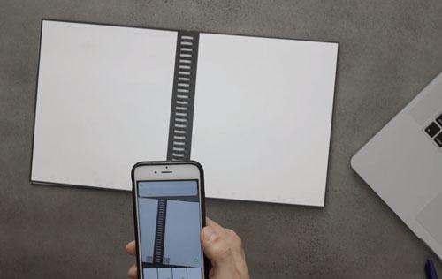 Application mobile Cahier reutilisable rocketbook wave effacable au micro ondes