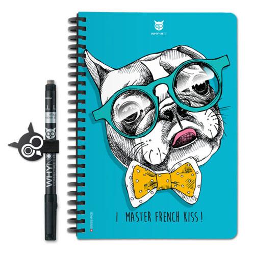 Cahier réutilisable Whynote Book A5 Bulldog