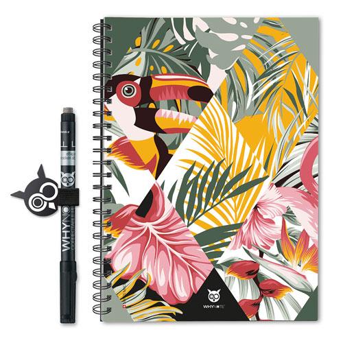 Cahier réutilisable Whynote Book A5 Eco Jungle