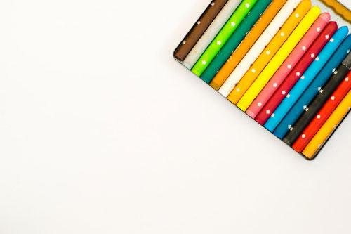 craie de couleurs pour cahier ardoise réutilisable Jaq Jaq Bird